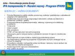 istra komunikacija prema europi ipa komponenta v ruralni razvoj program ipard4