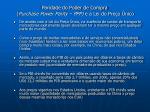 paridade do poder de compra purchase power parity ppp e a lei do pre o nico