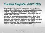 franti ek ringhoffer 1817 1873