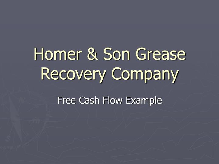 homer son grease recovery company n.