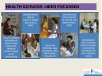 health services need focussed