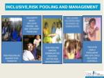 inclusive risk pooling and management