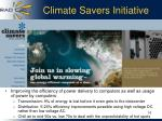 climate savers initiative