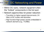 dc networking and power
