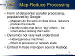 map reduce processing
