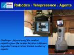 robotics telepresence agents