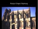 rosslyn chapel edynburg