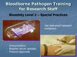 bloodborne pathogen training for research staff15