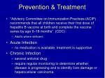 prevention treatment