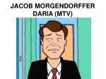 jacob morgendorffer daria mtv