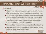 map 2013 what we have today2