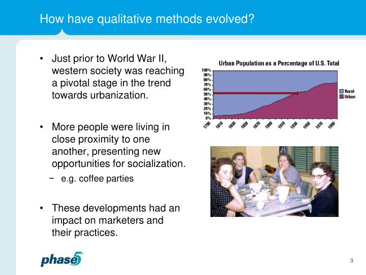 How have qualitative methods evolved