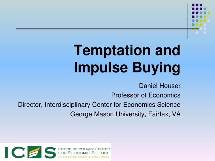 temptation and impulse buying n.