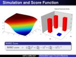 simulation and score function1