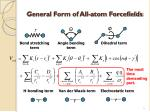 general form of all atom forcefields