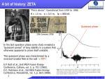 a bit of history zeta