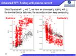 advanced rfp scaling with plasma current