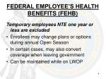 federal employee s health benefits fehb1
