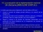 13 la evaluaci n de la implementaci n nacional ue alemania bwc conf vi wp 3 i