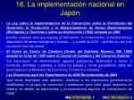16 la implementaci n nacional en jap n