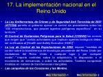 17 la implementaci n nacional en el reino unido