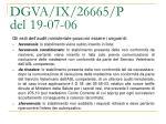 dgva ix 26665 p del 19 07 067