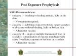 post exposure prophylaxis1
