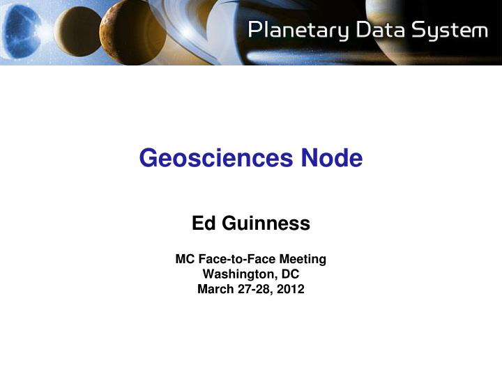 geosciences node n.