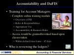 accountability and dafis1