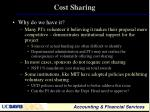 cost sharing2