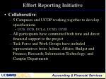 effort reporting initiative1