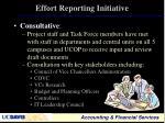 effort reporting initiative2