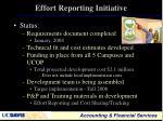 effort reporting initiative4