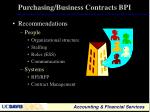 purchasing business contracts bpi1