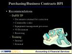 purchasing business contracts bpi2