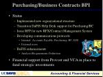 purchasing business contracts bpi3