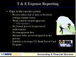 t e expense reporting1