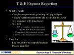 t e expense reporting3