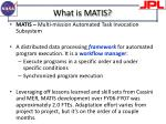 what is matis