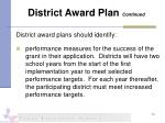 district award plan continued2