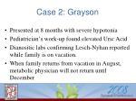 case 2 grayson