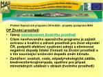 p ehled opera n ch program 2014 2020 projekty spolupr ce mas