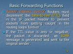 basic forwarding functions2