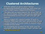 clustered architectures1