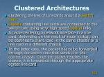 clustered architectures2