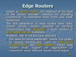 edge routers