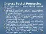 ingress packet processing1