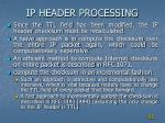 ip header processing2