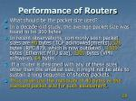 performance of routers2