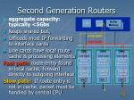 second generation routers